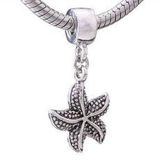 I want this one!! Pandora Starfish Charm