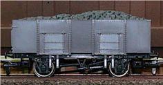 A009  Unpainted 20ton mineral wagon