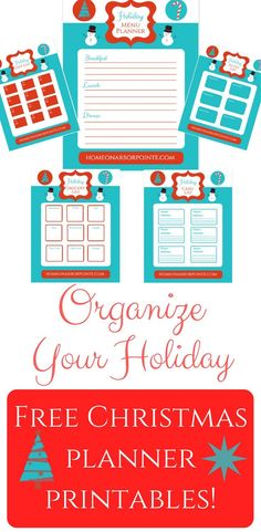 Organize your holida