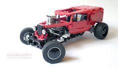 Lego Hot Rod Van