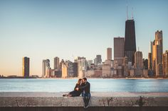 03 lakefront engagement photos in chicago