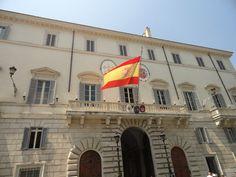 Rome - Spanish Embassy at Piazza Di Spagna