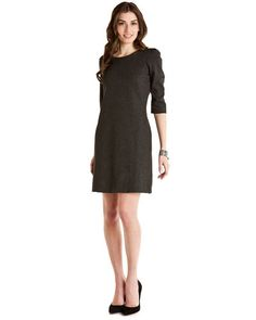 Tegan Grey Jersey Dress