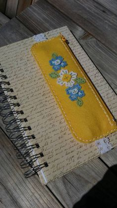 Check out this item in my Etsy shop https://www.etsy.com/listing/245469145/pen-and-pencil-bookmark-case