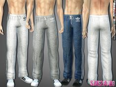.:288 - Athletic pants:.  Found in TSR Category 'Sms 4 Male Athletic'