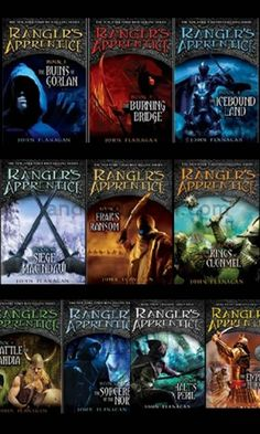 The Ranger's Apprentice Series by John Flannagan; good series by i've only read up to 6-7; just got a little repetitive; might pick them up again.