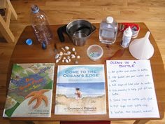 How to Make an Ocean in a Bottle - fun summer project