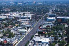 San Jose California. Stevens Creek Blvd. one of Silicon Valleys major thoroughfares .