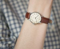 Classic women's watch Zarja minimalist watch teens by SovietEra, $73.00