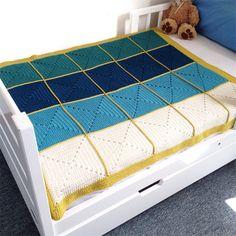 Crochet baby blanket - Merino Wool - free post | Three Beans in a Pod | madeit.com.au