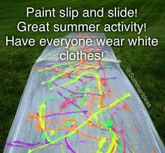 Paint Slip & Slide