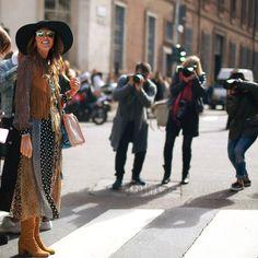 Milan Fashion Week Street Style - NYTimes.com