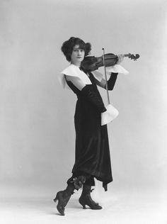 Odette Myrtil by Bassano, 1916
