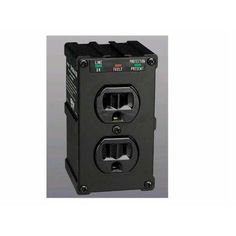 TRIPP LITE ISOBAR SURGE PROTECTOR WALL MOUNT DIRECT PLUG IN 2 OUT 1410 JLE