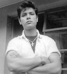 A rare photo of 17 -year-old British Rock and Roller Cliff Richard