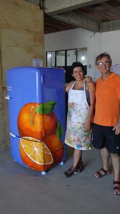 a geladeira e seu dono Pepper