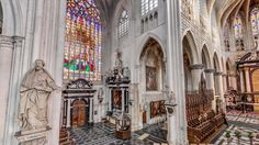360° Virtual Tour of the Sint-Rombouts Cathedral in Mechelen