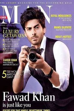 Fawad Khan is his stylish usual self on 'The Man'