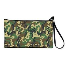 military camouflage Clutch Bag