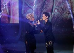"""The Queen of Hip-Hop Soul traveled across the Atlantic to spread holiday cheer on """"The X Factor"""" U.K. Mary J Blige and British songstress Jessie J."""