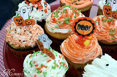 Halloween Dream Cupcakes