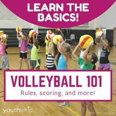 Volleyball Basic rules of the game for new parents and players Volleyball Rules, Volleyball Skills, Volleyball Training, Coaching Volleyball, Volleyball Pictures, Beach Volleyball, Volleyball 2017, Volleyball Practice, Kids Sports