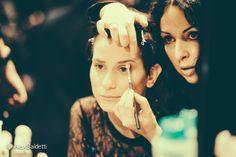 Backstage 31.1.2015 Antonella Rossi #altaroma2015 Ph. Alex Baldetti / make up Michela Mele, acconciature Bartorelli Art of Hair