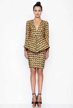 Bergman Dress - Egyptian Gold