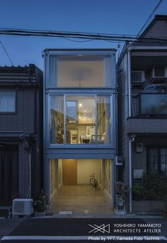 Narrow residential building sites are common in Osaka, Japan. Though the creative design solutions to maximize and empower living spaces displayed here is truly uncommon. Yoshihiro Yamamoto Architects Atelier design of this five level two bedroom modern home makes the site feel abundant. Required to maintain a minimum distance of 17cm from the adjacent homes, …