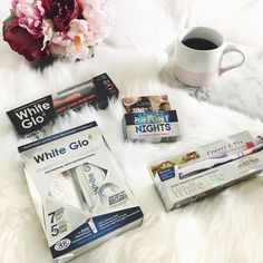 Morning essentials Cannot start my day without a coffee  This makes my teeth slightly less than pearly white though which is why I am so excited to try out these goodies from @white.glo  A blog post will be coming soon about my experience!  #gifted . . . . . . . . . . #photography #whiteglo #makeup #smile #goals #eyebrows #eyes #lips #sephora #motivation #girl #hair #hairgoals #artistic #inspiration #beauty #ausblogger #instadaily #makeupaddict #makeupjunkie #makeupmess #bbloggersaus…
