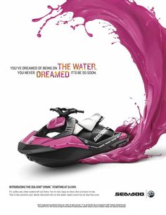 Loving the SeaDoo Sparks! Miss my SeaDoo, very soon I'll be getting another!