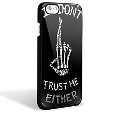 I Dont Trust Me Either Luke Hemmings 5 Second of Summer for Iphone and Samsung Galaxy Case (iPhone 6 Black)