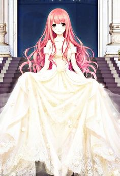 Appearances, clothes, or characters for my RPGS. Pink Hair Anime, Anime Girl Pink, Anime Angel Girl, Anime Girl Dress, Pretty Anime Girl, Beautiful Anime Girl, Manga Girl, Anime Art Girl, Anime Girls