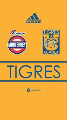 Fondo de pantalla para iPhone5 de Tigres UANL • LigraficaMX 150314CTG
