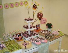 Festa Infantil Corujinhas - Mesa de Doces
