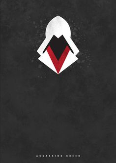 Assassin's Creed ~ Minimal Gaming Poster by Joseph Harrold Video Game Posters, Video Game Art, Video Games, Gaming Posters, Movie Posters, Arte Assassins Creed, Poster Minimalista, Animal Games, Star Citizen