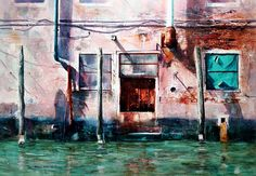 Venice Painting - Venice Aftrenoon by David Poxon
