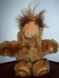 """VINTAGE ALF TV SHOW 1989 7"""" SUCTION CUP WINDOW PLUSH APPLAUSE FREE SHIPPING $9.99"""