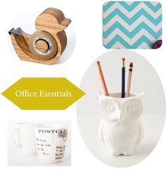 Office accessories  - whimsy + utility #anthropologie #etsy Counseling Office Decor, Promo Gifts, Cute Office, Office Essentials, Dry Erase Board, Office Accessories, Life Organization, Creative, Pretty
