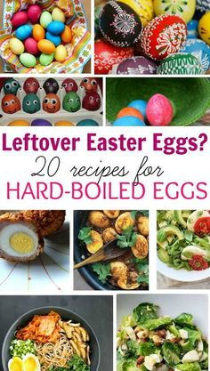Have leftover Easter eggs Here are 20 recipes for hard boiled eggs that are great for the whole family