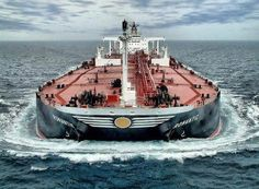 Loaded down tanker ship. Tanker Ship, Merchant Marine, Merchant Navy, Oil Tanker, Drilling Rig, Oil Rig, Crude Oil, Yacht Boat, Tug Boats