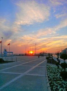 #Sunset #karsiyaka #yelkenklubu