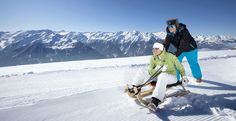 Langlaufen & Rodeln in Bramberg am Wildkogel, Wanderhotel Kirchner Zell Am See, Berg, Mount Everest, Mountains, Nature, Travel, Snowshoe, Ski Trips, Winter Vacations