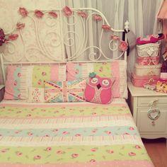 My beautiful shabby chic bedroom.
