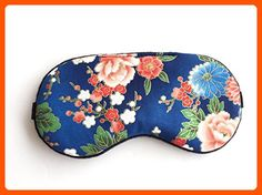 Handmade Oriental Floral Sleep Mask Eye Mask Travel Eye Mask Eye Shade Party Sleep Mask. - Dont forget to travel (*Amazon Partner-Link)