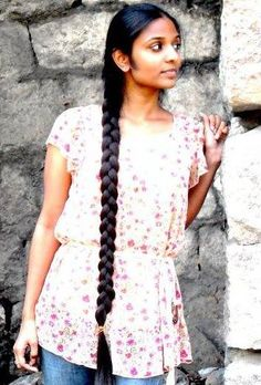 Slick Hairstyles, Indian Hairstyles, Braided Hairstyles, Two Braids, Braids For Long Hair, Indian Braids, Indian Long Hair Braid, Beautiful Braids, Super Long Hair