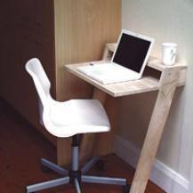 Leaning Mini Desk  - the actual plans