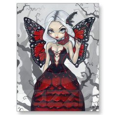 Shop Valentine Masquerade gothic fairy Art Print created by strangeling. Personalize it with photos & text or purchase as is! Gothic Fantasy Art, Gothic Fairy, Canvas Art Prints, Fine Art Prints, Framed Prints, Dragons, Kobold, Fairy Pictures, Fantasy Pictures