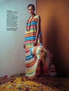 """The Tribe of Tomorrow"" Harper's Bazaar Indonesia 2016"
