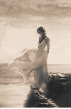 like a princess near her sea...